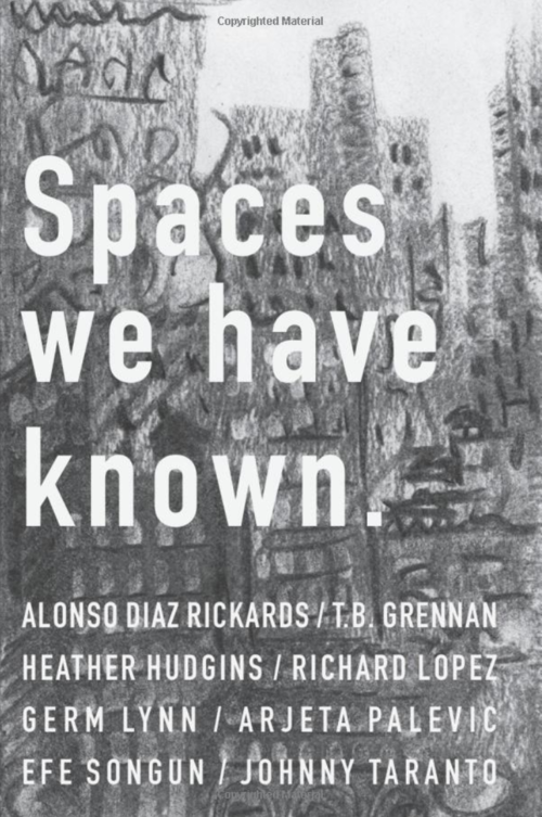 Spaces we have known. - The pieces contained within this collection are the result of the first iteration of Hypergraphic Writers Workshop, which took place during the summer of 2018. Hypergraphic was born out of a need to create a writers' space, one that was safe and productive for the emerging Queer identified writer. Over the course of eight weeks it became clear that the process was not purely spatial but primarily social. Through conversation, critique and collaboration eight stories were created. Each of these stories asks the reader to think about how we identify space, how we move through it, how do we affect it, and how does it affects us?