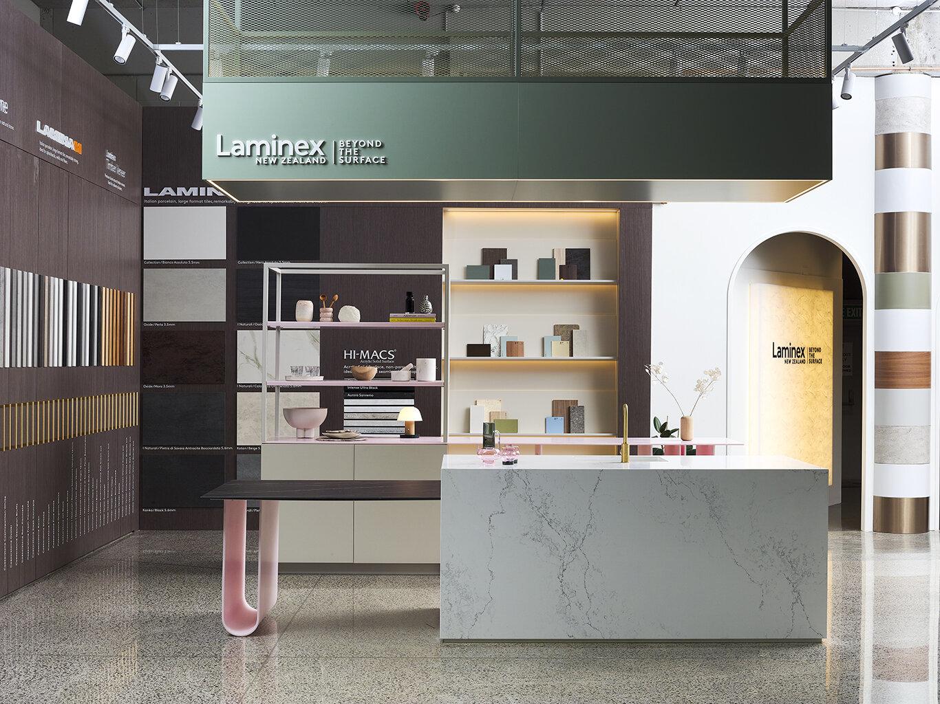 Laminex Showroom I Parnell — Material Creative