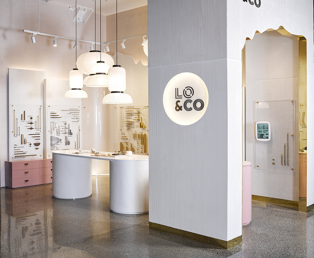 Lo & Co Interiors Showroom   Parnell — Material Creative