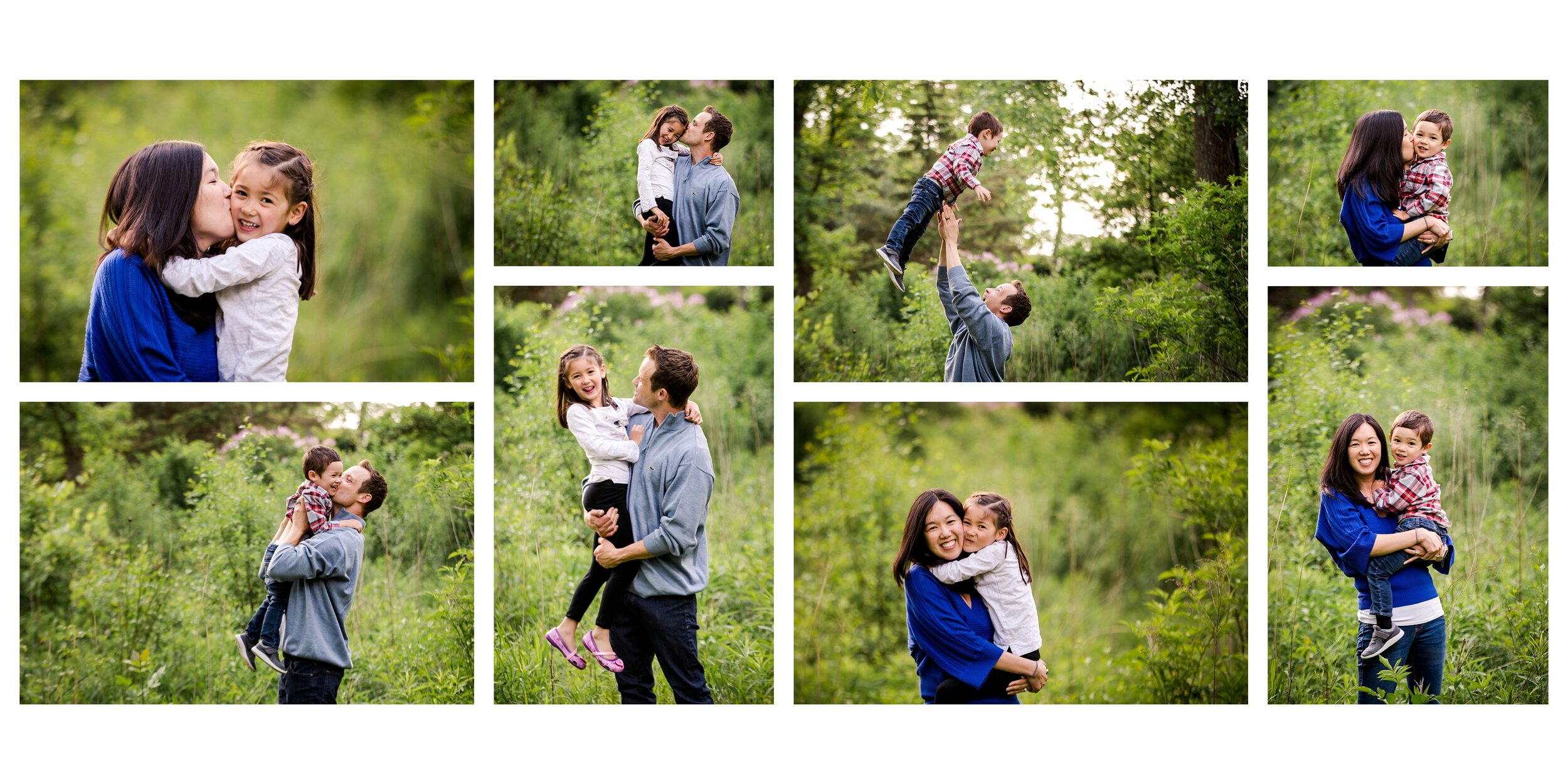 Plano Texas family portraits custom luxury children