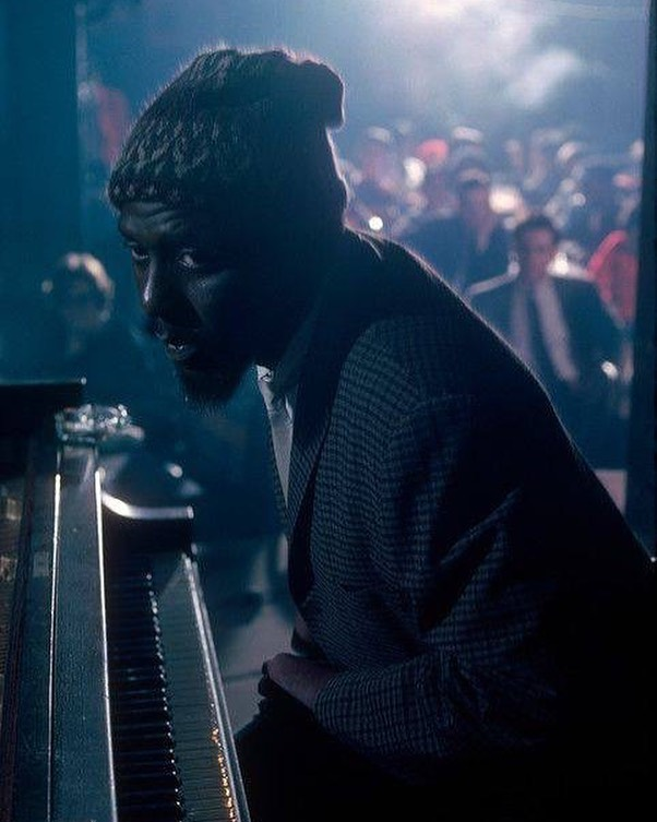 Thelonious Sphere Monk performs at at the 1975 Newport Jazz Festival in NYC. Photo by Burt Glinn. #theloniousmonk #bebop #jazz @newportjazzfest