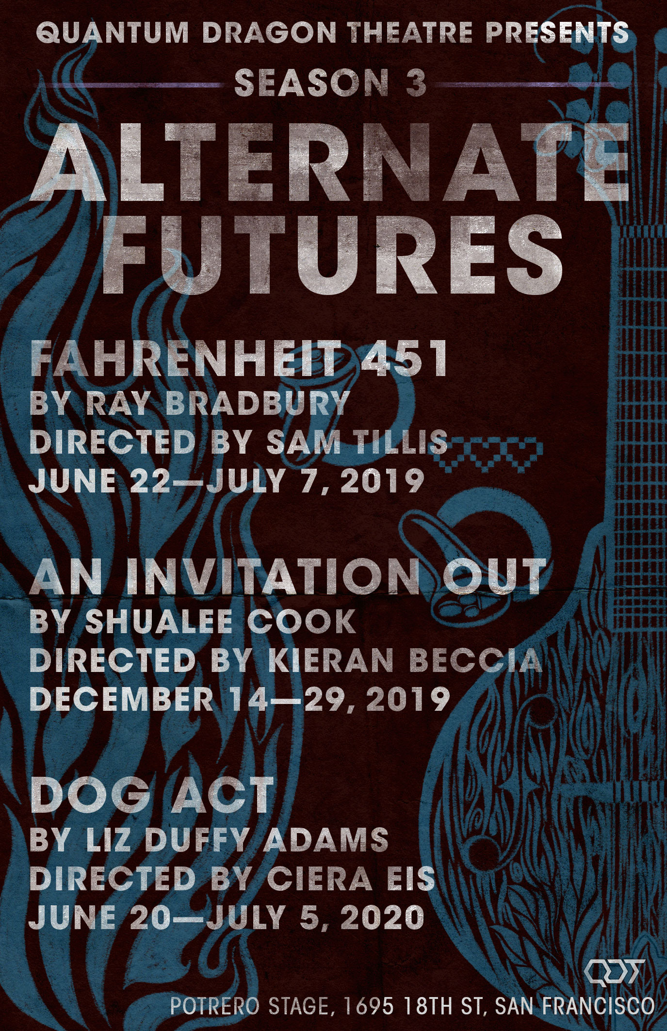 Dog Act - By Liz Duffy AdamsDirected by Ciera EisJUNE 20th—JULY 5th, 2020Potrero Stage1695 18th St, San Francisco100 min, including one intermissionClick here for content notice