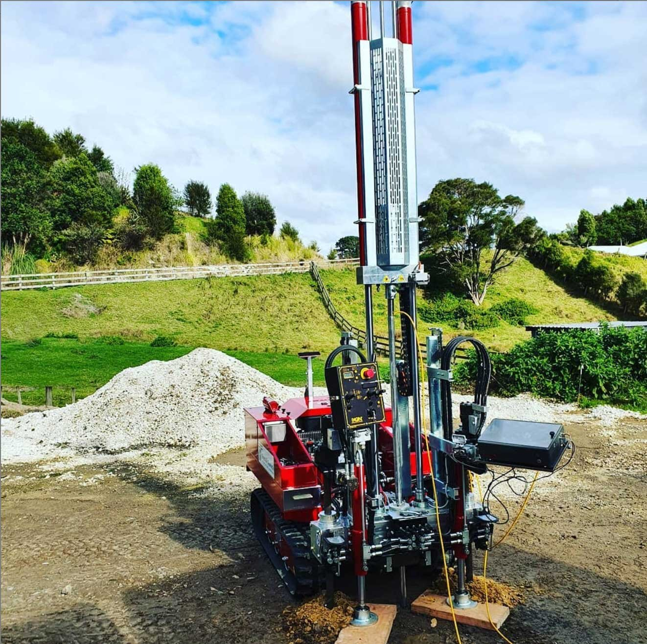 CPT testing for Cutfield Consulting Engineers Ltd, Whakatane, NZ.