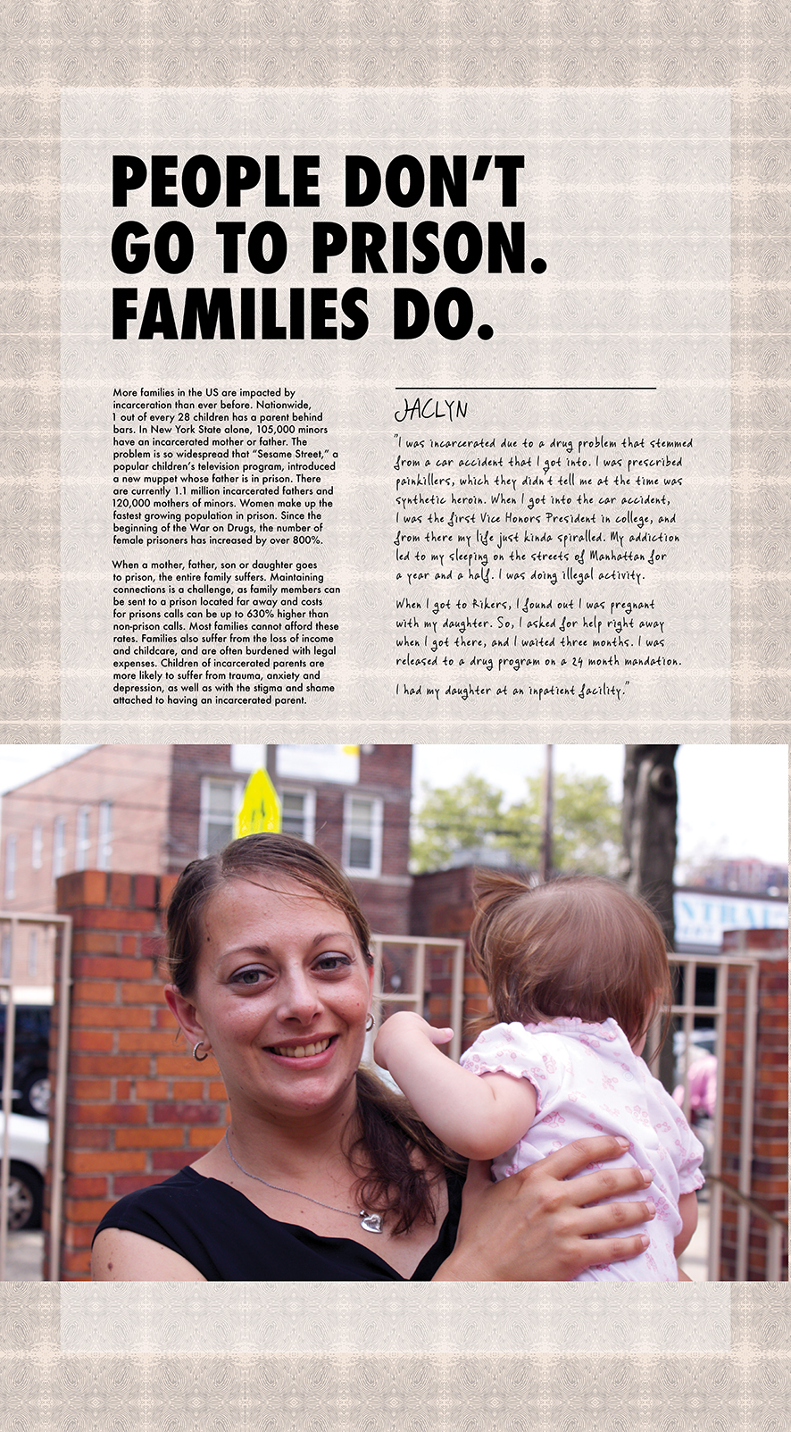 People Don't Go To Prison. Families Do. (2015)