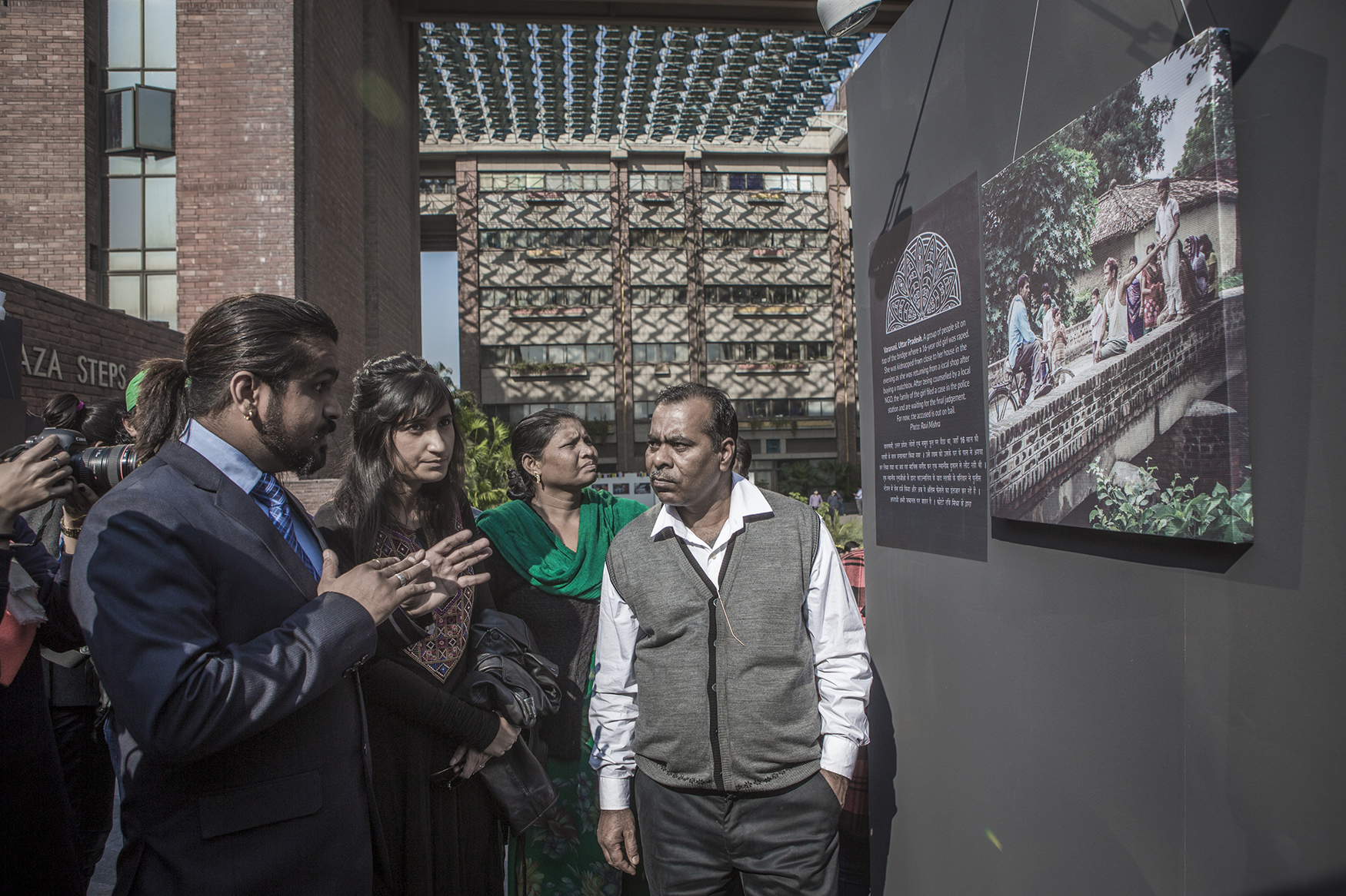 Opening of Unearthed 16 December 2015