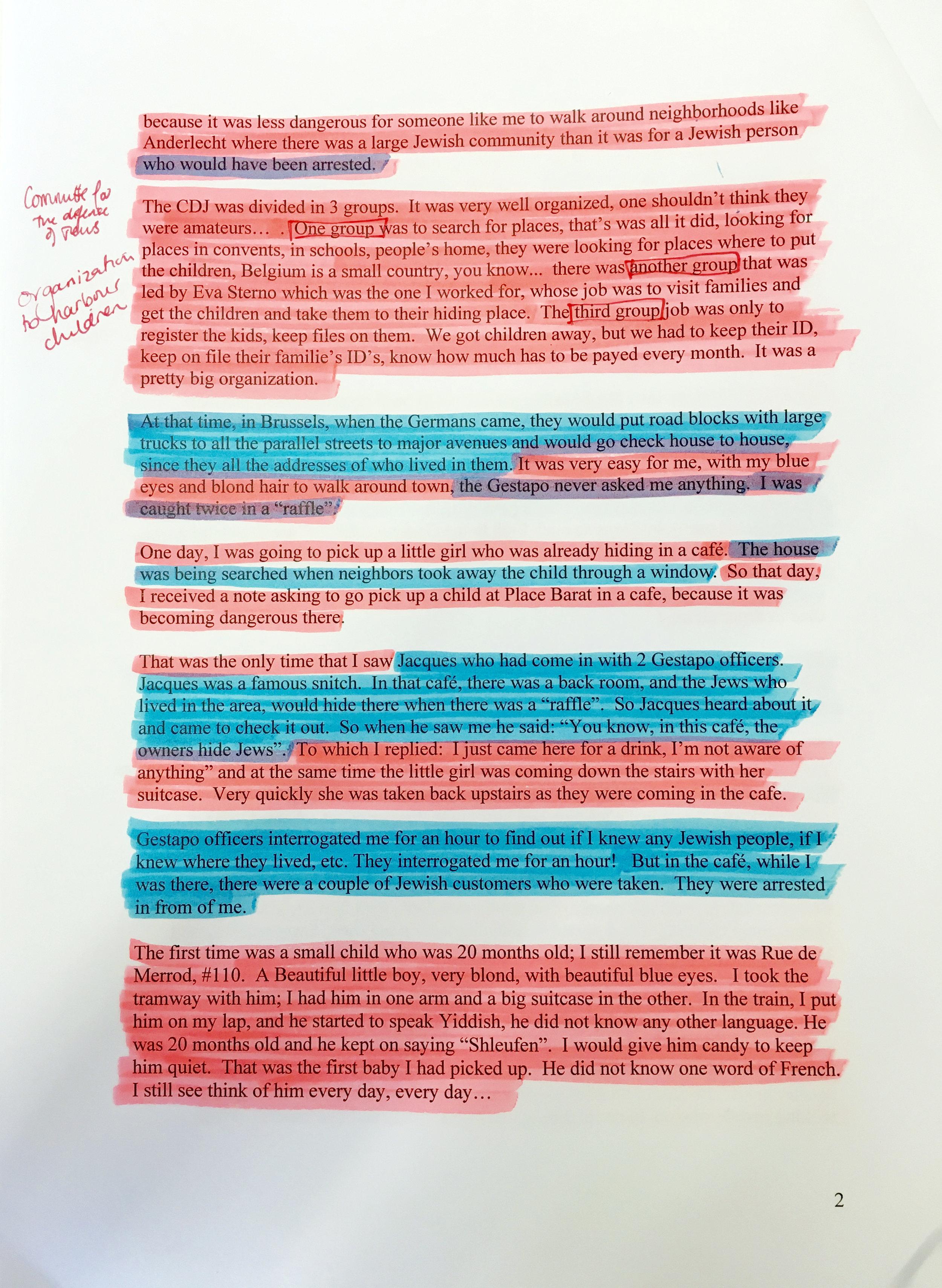 Andree Gallen's Testimony (2/3)