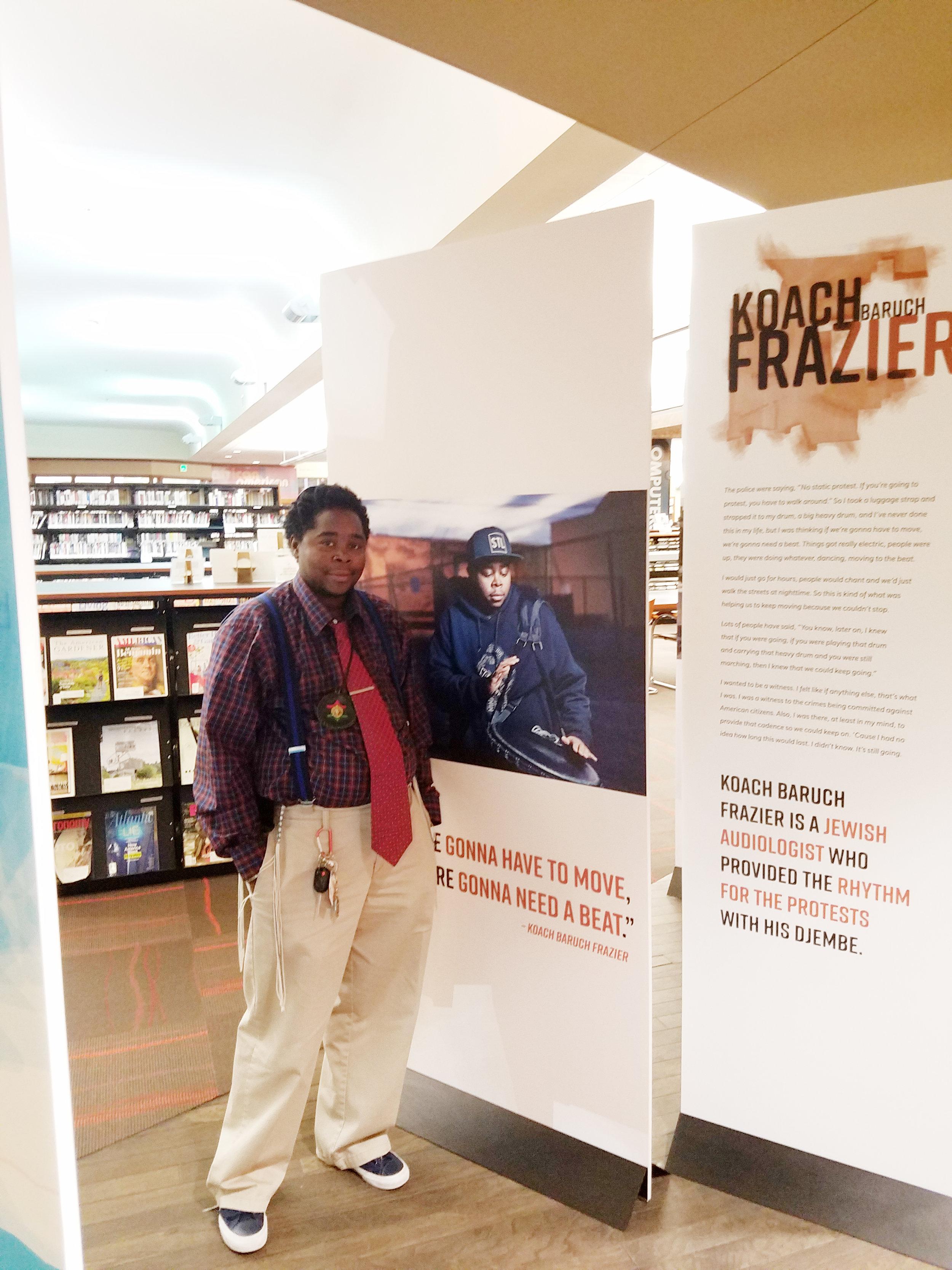 Ferguson Voices at St Louis Public Library