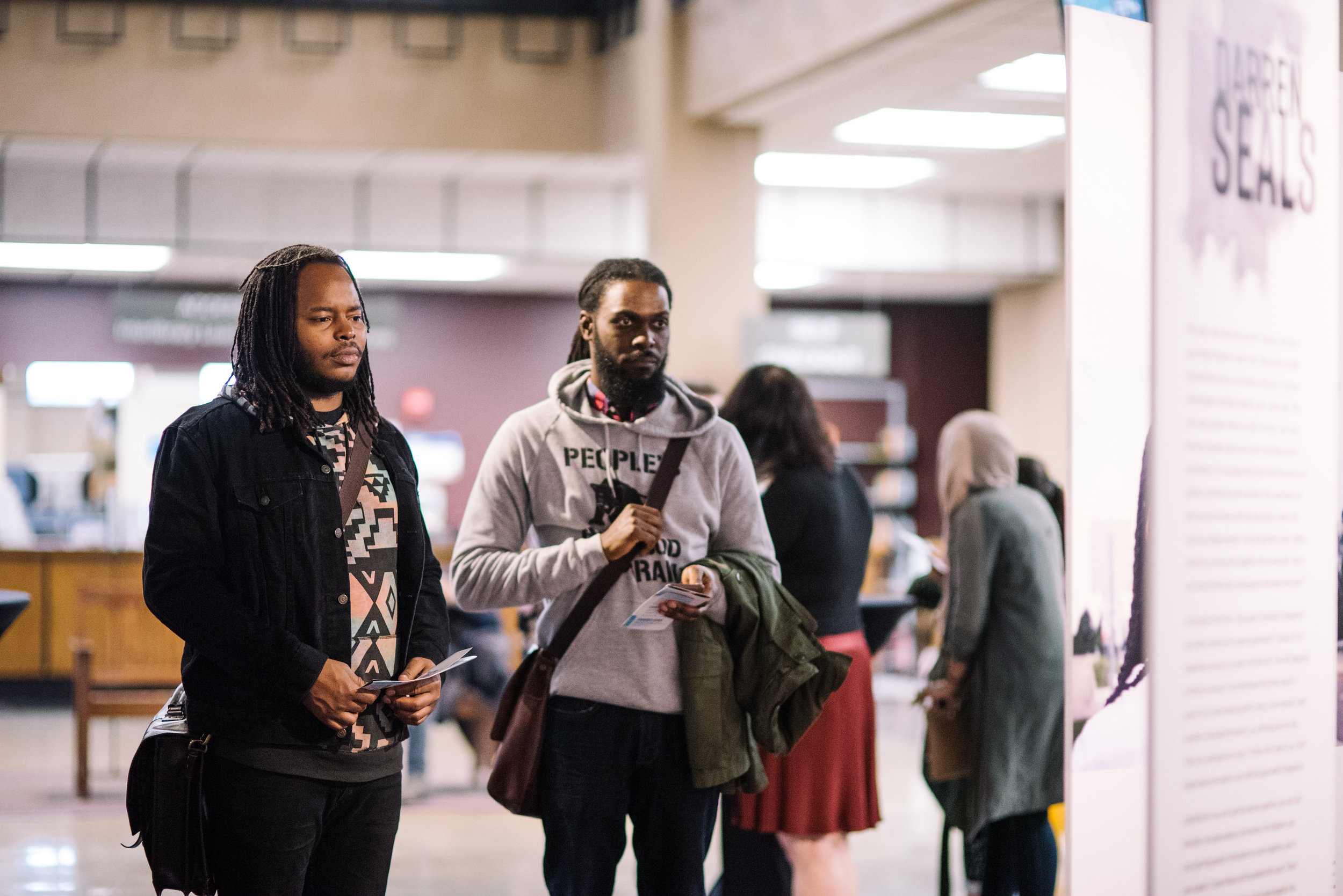 Launch of  Ferguson Voices: Disrupting the Frame  at The University of Dayton, January 2017