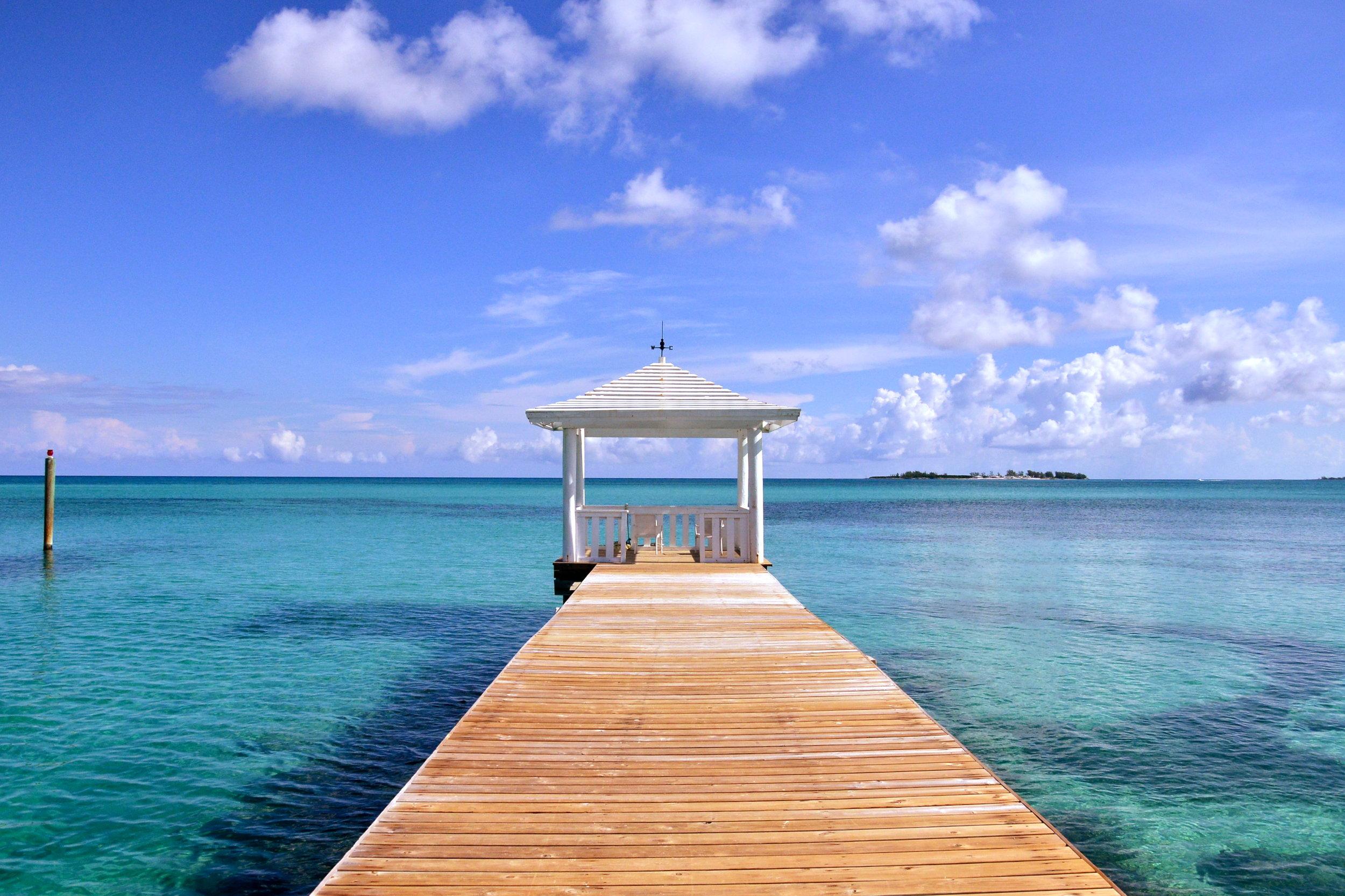 Sandyport Beach Resort Ocean Gazebo.JPG