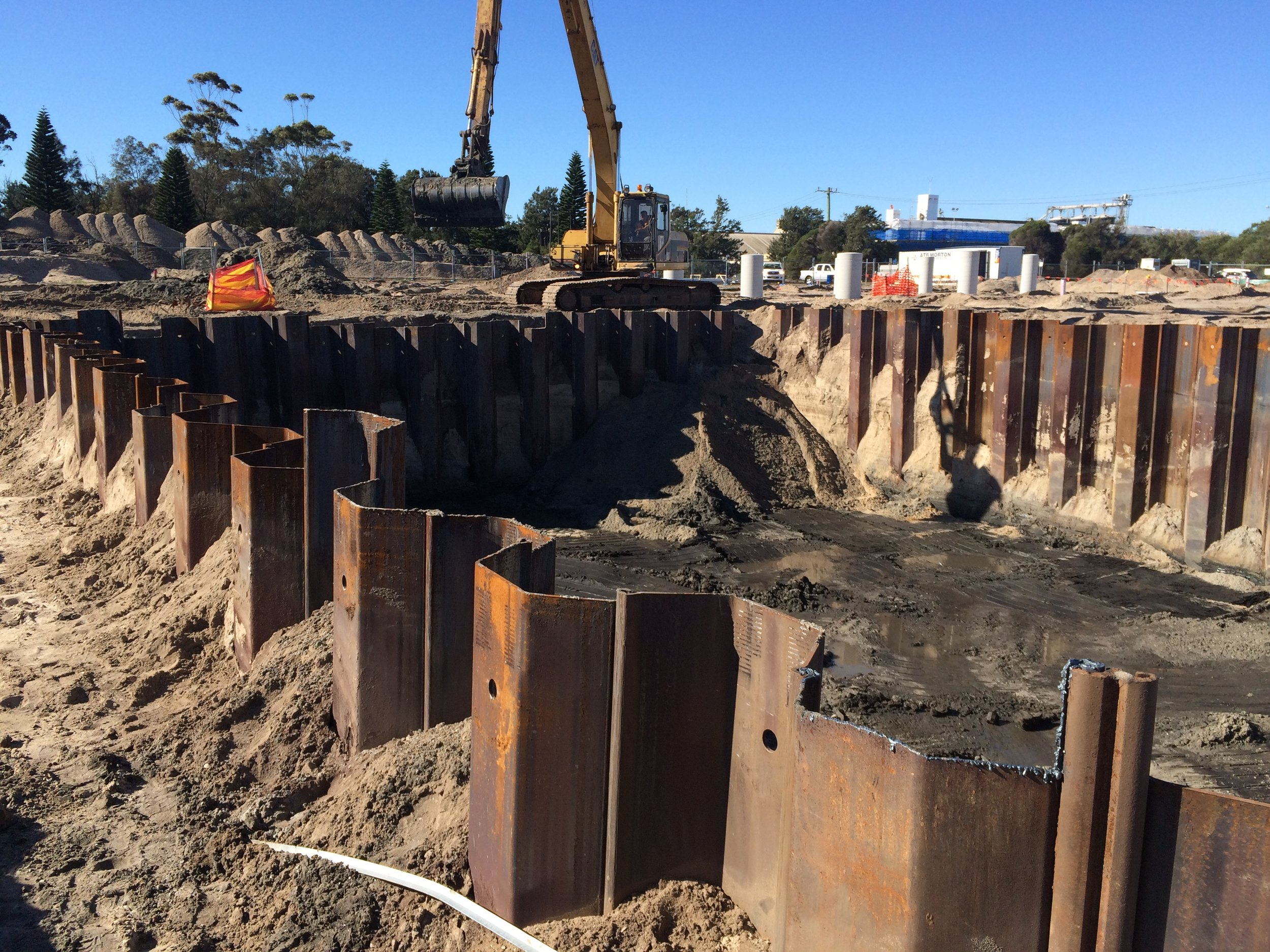 SHEET PILES — Civil Sydney