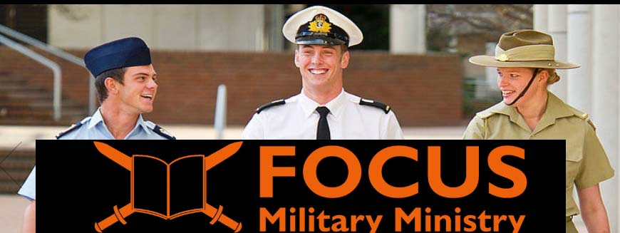 FOCUS is a group of Christians in the military who are committed to making Christ known in the ADF.  FOCUS employs ministry workers to lead and execute the ministry.
