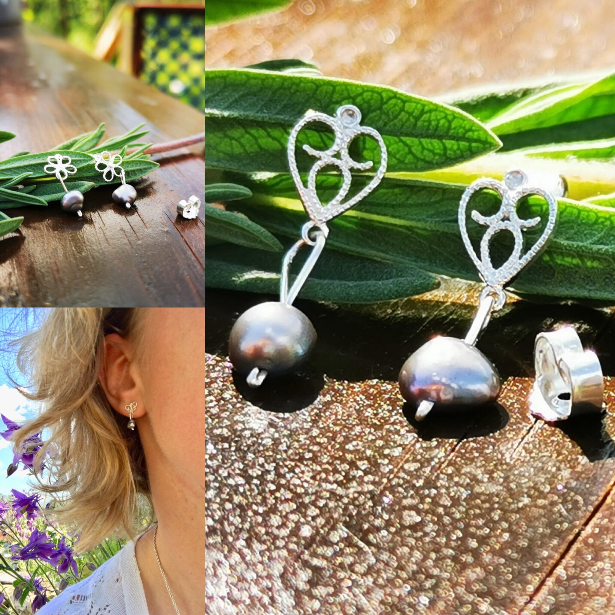 Handmade silver jewelry - Follow us to our etsy shop
