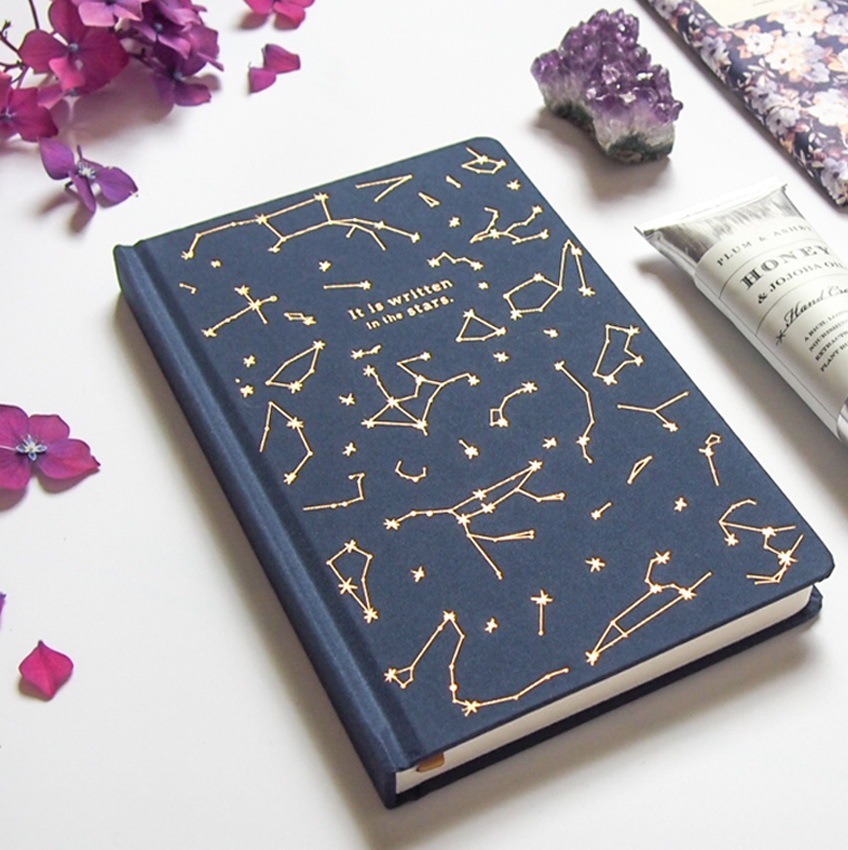 'It's Written in the Stars' Notebook from Designworks. Available in The Dreamer gift box.