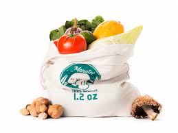 100% cotton, reusable bulk or produce bags. I like these because the company donates 2% to manatee and marine wildlife conservation, but there are many options - you probably have some already.