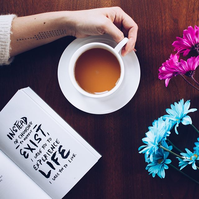 Experience Life. Through coffee. Duh. . . . . #coffee #cafe #love #tea #coffeetime #food #instagood #coffeelover #art #coffeeshop #breakfast #like #photooftheday #happy #follow #goodmorning #instagram #morning #latte #coffeeaddict #coffeelovers#instafood #bhfyp