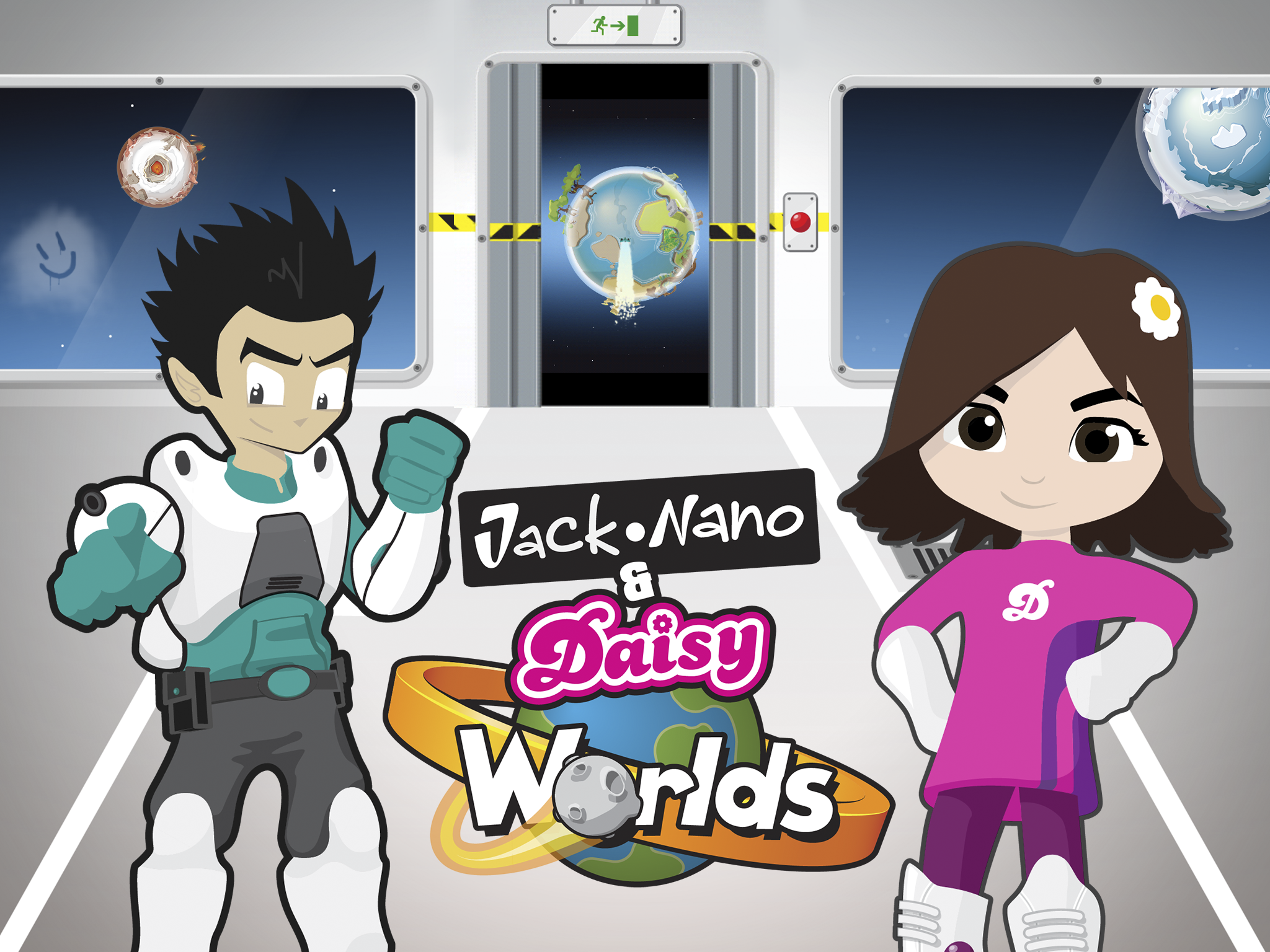 Clarks Jack & Daisy Worlds Logo