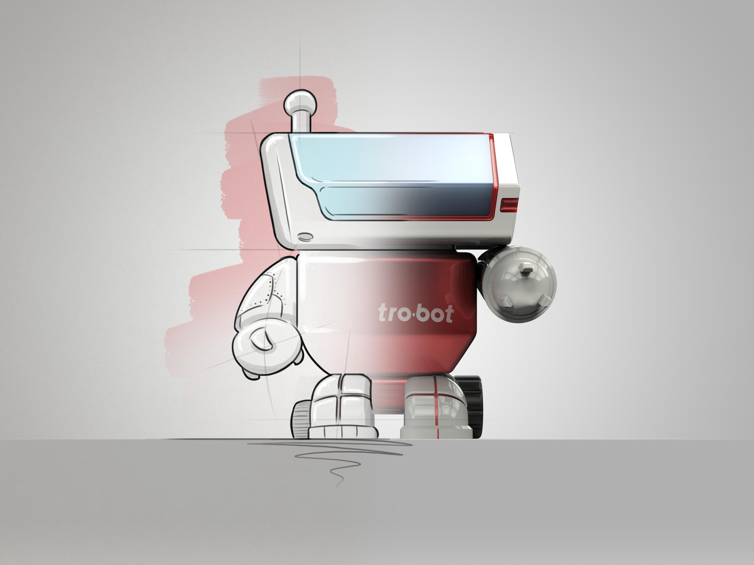 Trotec Trobot Concept Sketch