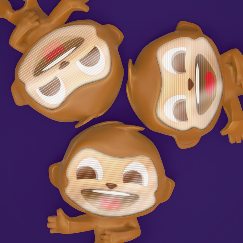 Raz monkey lenticular freddo treasures.jpg