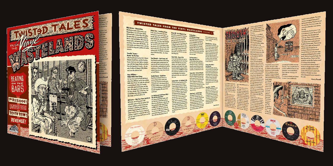 Beating on the Bars, volume three of Twisted Tales form the Vinyl Wasteland