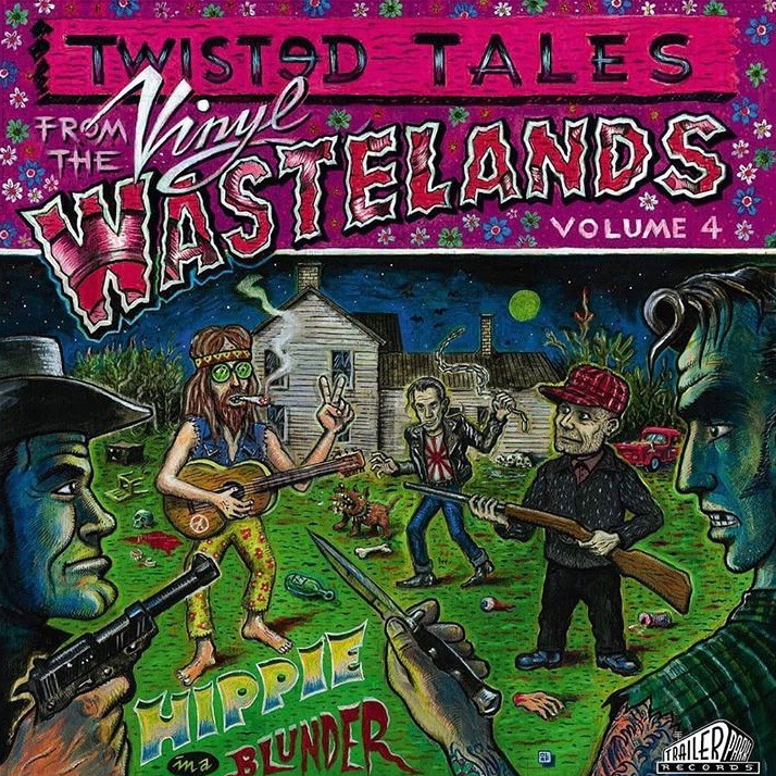 Hippie in a Blunder is volume four of the Twisted Tales from the Vinyl Wasteland series