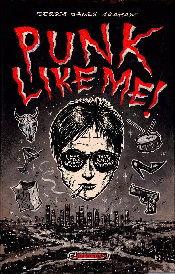 Punk Like Me by Terry Graham, cover by Olaf Jens