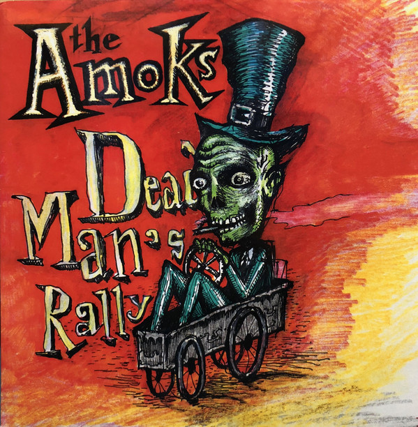 Dead Man's Rally by The Amoks was Olaf's first album cover