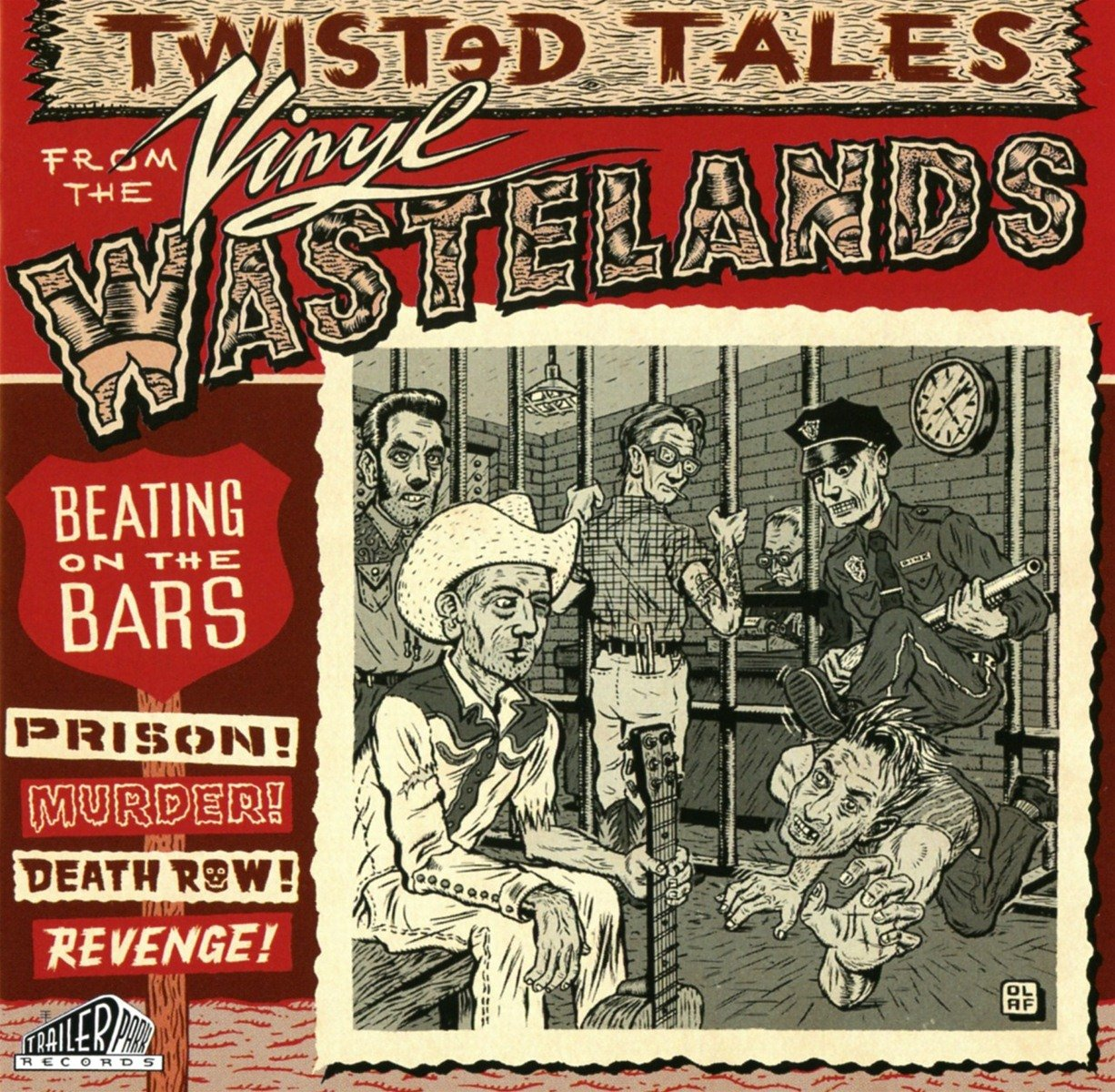 Beating On the Bars is the second volume in the Twisted Tales from the Vinyl Wasteland series