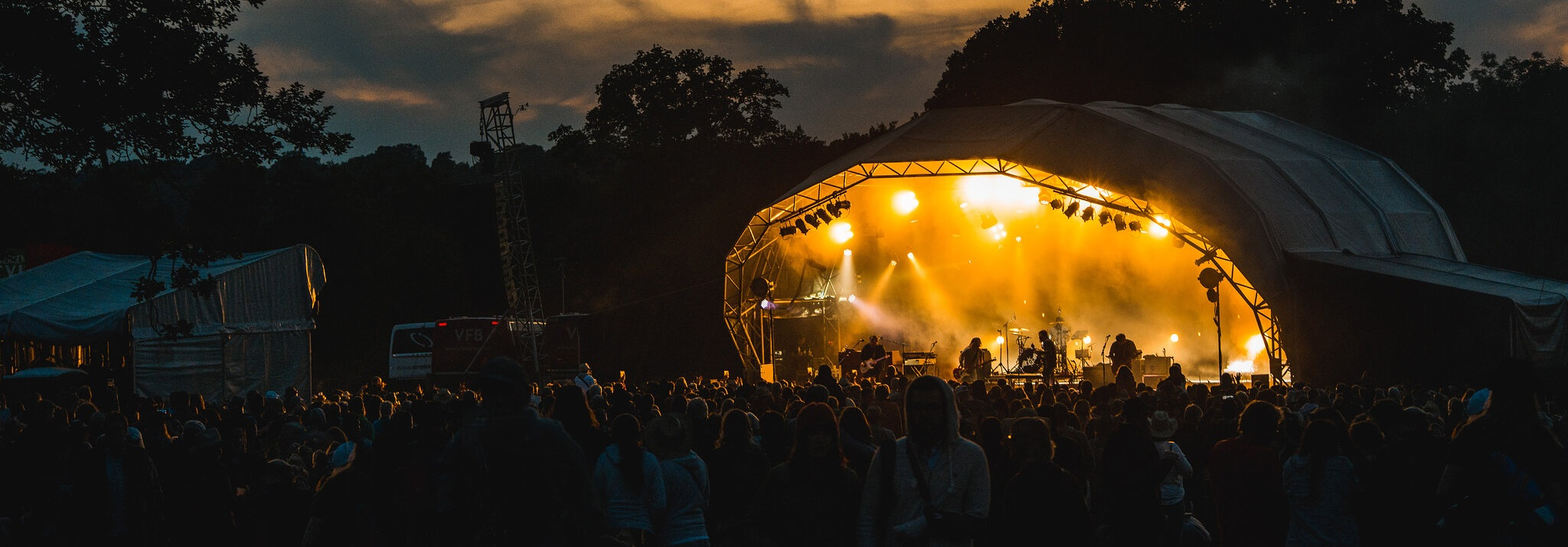 Main Stage, Black Deer 2019 - Photo by Ania Shrimpton