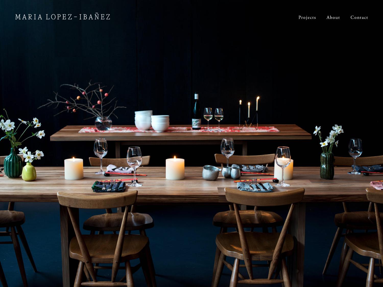 Squarespace site by Julia Kostreva Studio