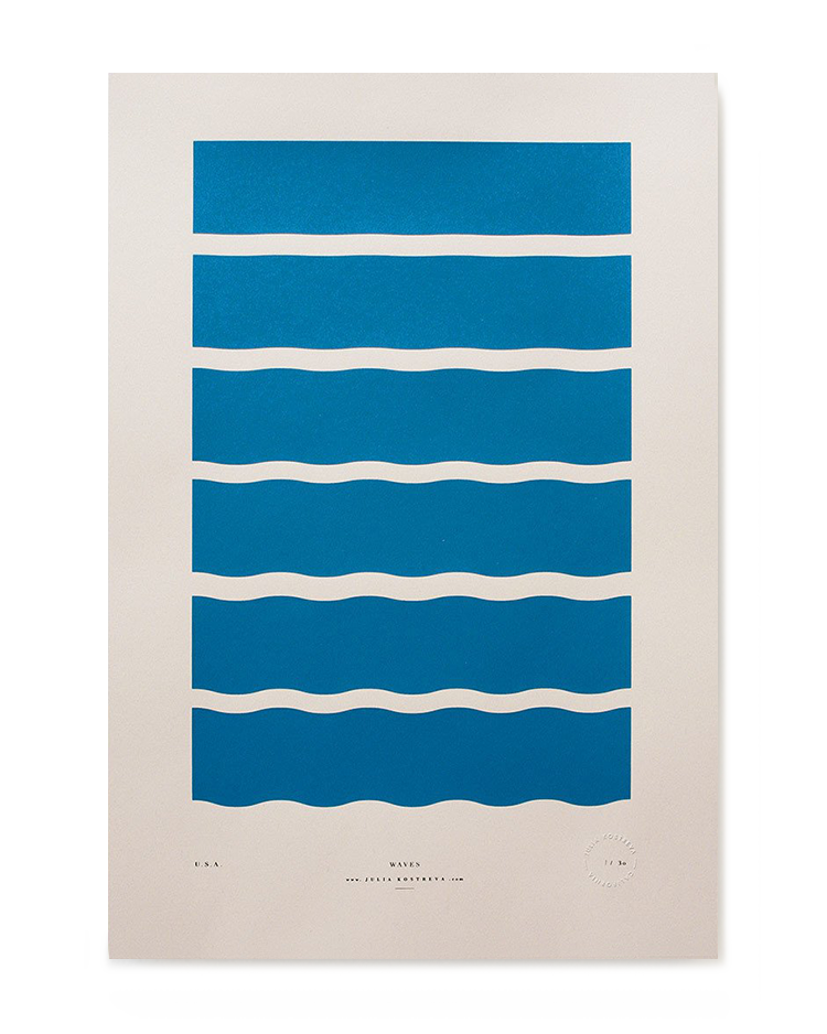 Waves, Julia Kostreva
