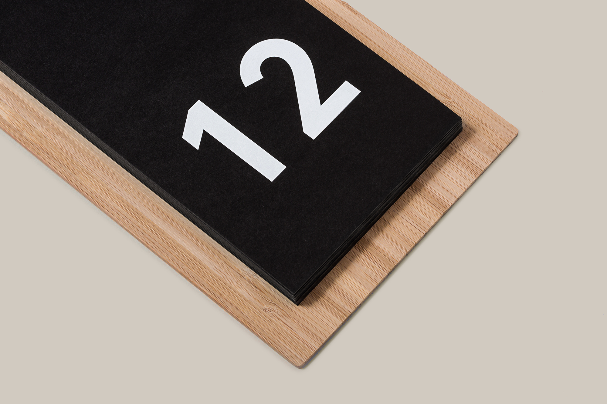 Minimal Wood Calendar, Julia Kostreva at Target