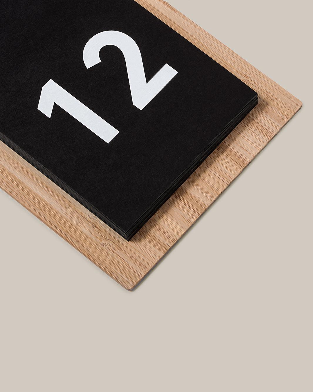 Minimal Wood Calendar, Julia Kostreva for Target