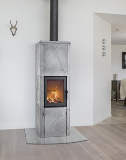 Thermal mass stoves