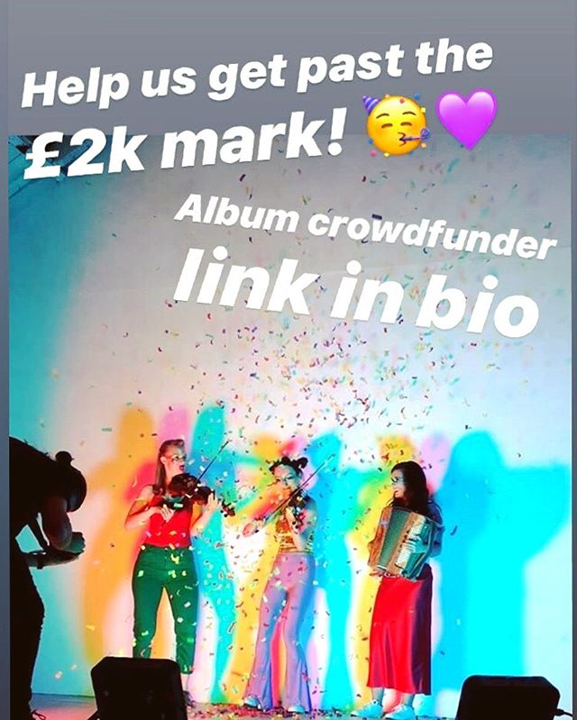 Link in bio 💜🎉 thanks so much to everyone who has donated so far!