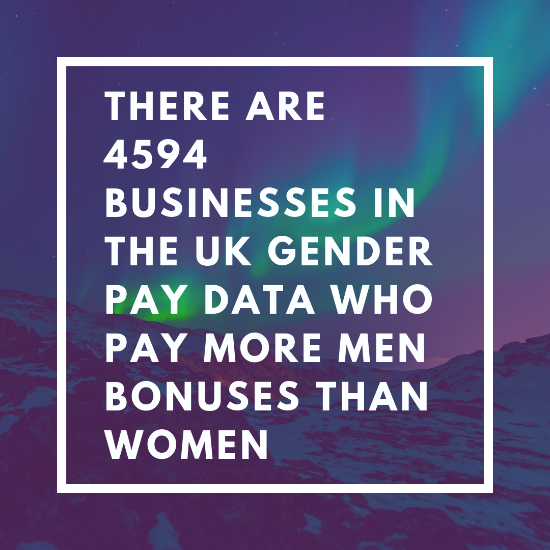 There are 4594businesses in the uk gender pay data who pay more men bonuses than women.png