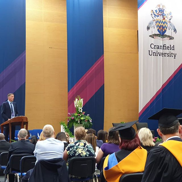 Time to graduate #cranfieldgrad #cranfieldmba