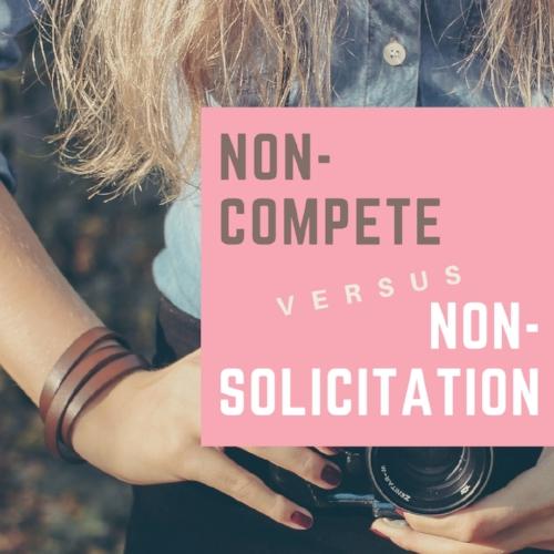 noncompete vs nonsolicitation
