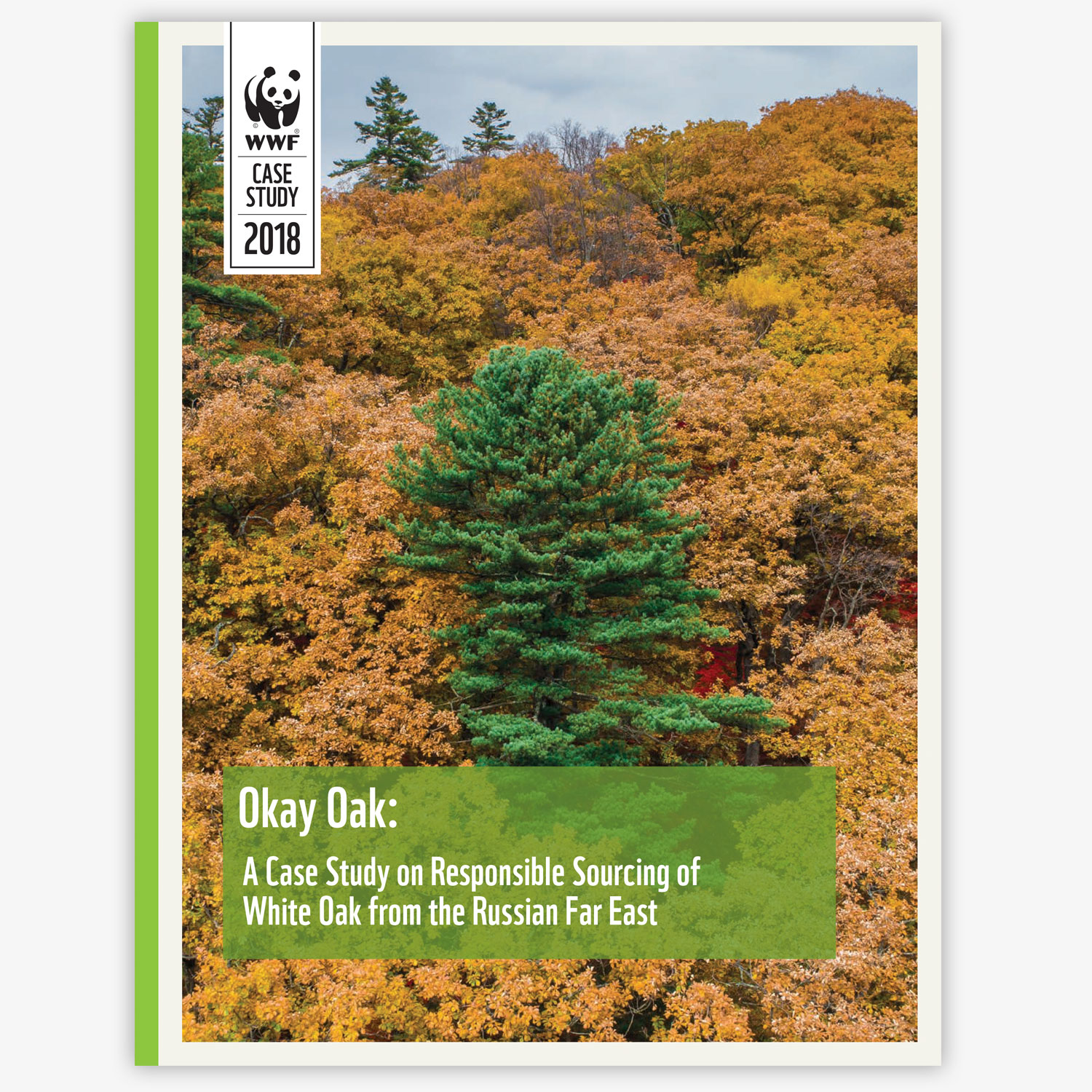 Case Study –  Okay, Oak: A Case Study on Responsible Sourcing of White Oak from the Russian Far East