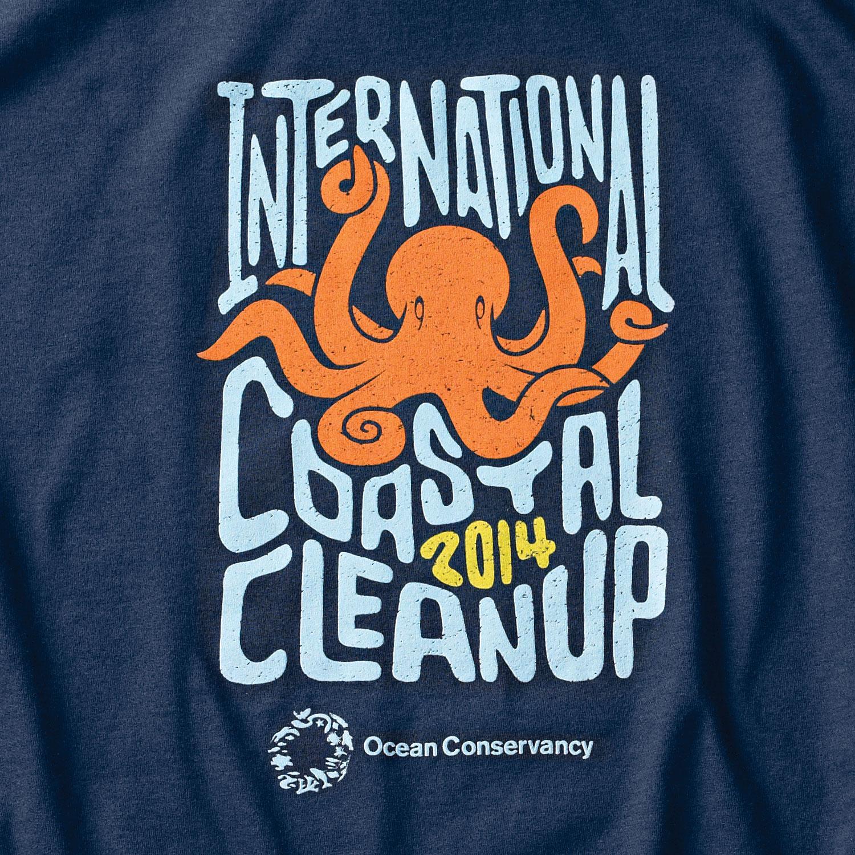 International Coastal Cleanup T-shirt
