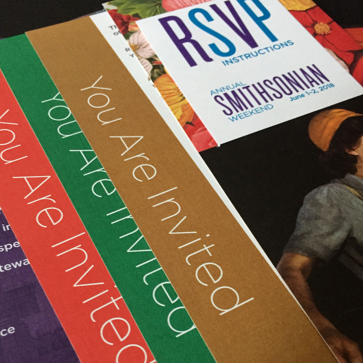 Annual Smithsonian Weekend  – Event Materials