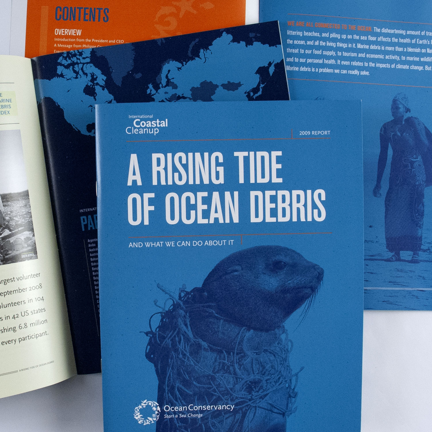 Annual Report – International Coastal Cleanup