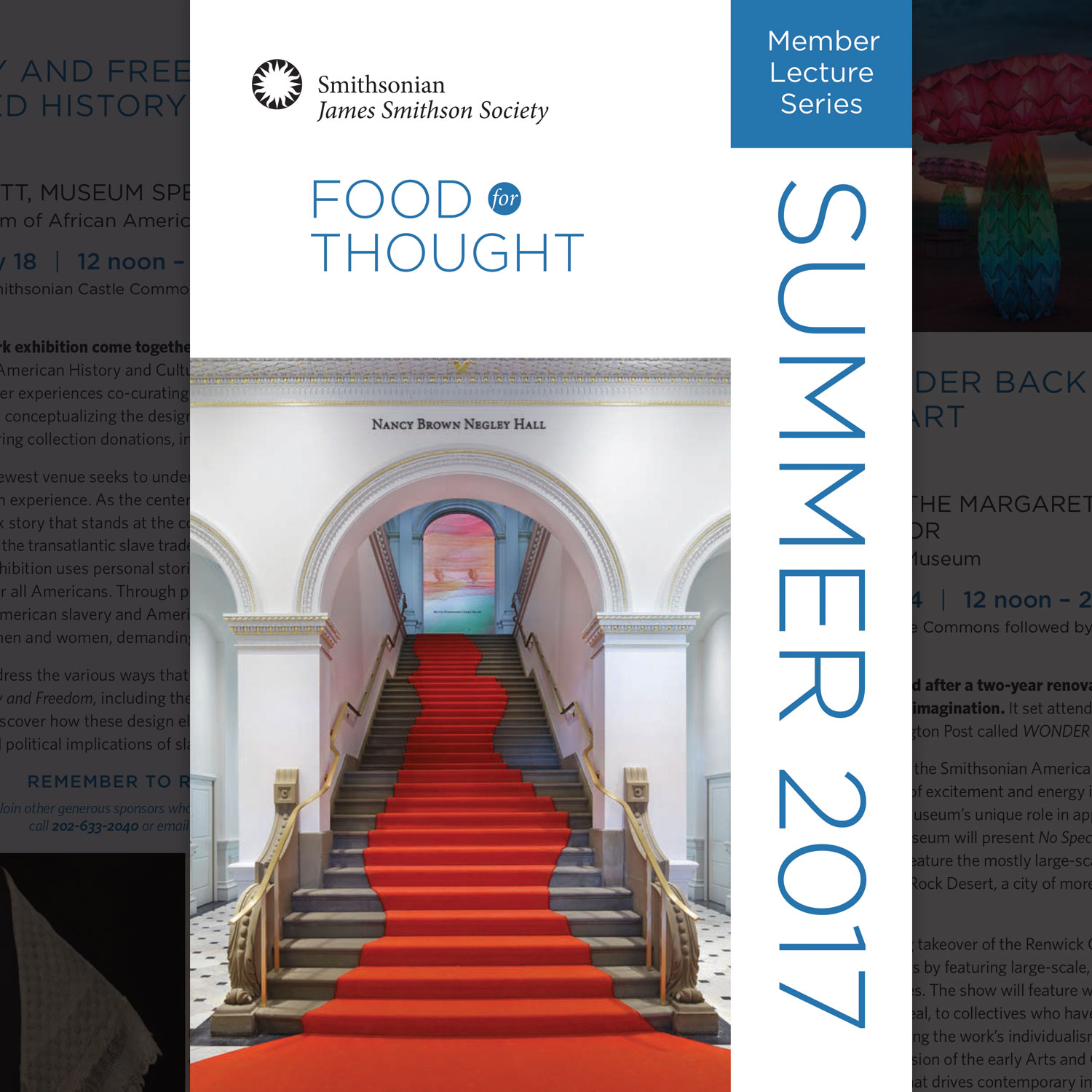 Food for Thought  – Event Invitation