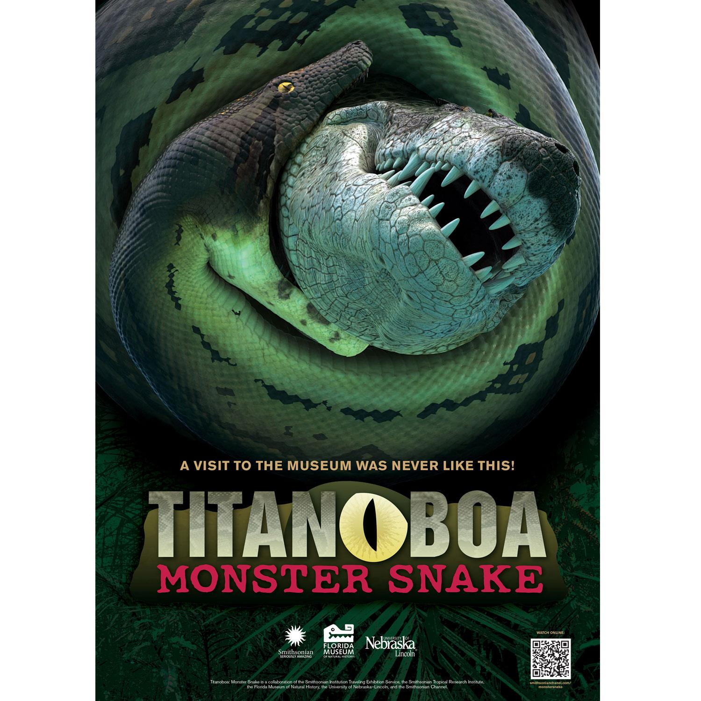 Titanoboa Monster Snake  – Exhibition Prospectus