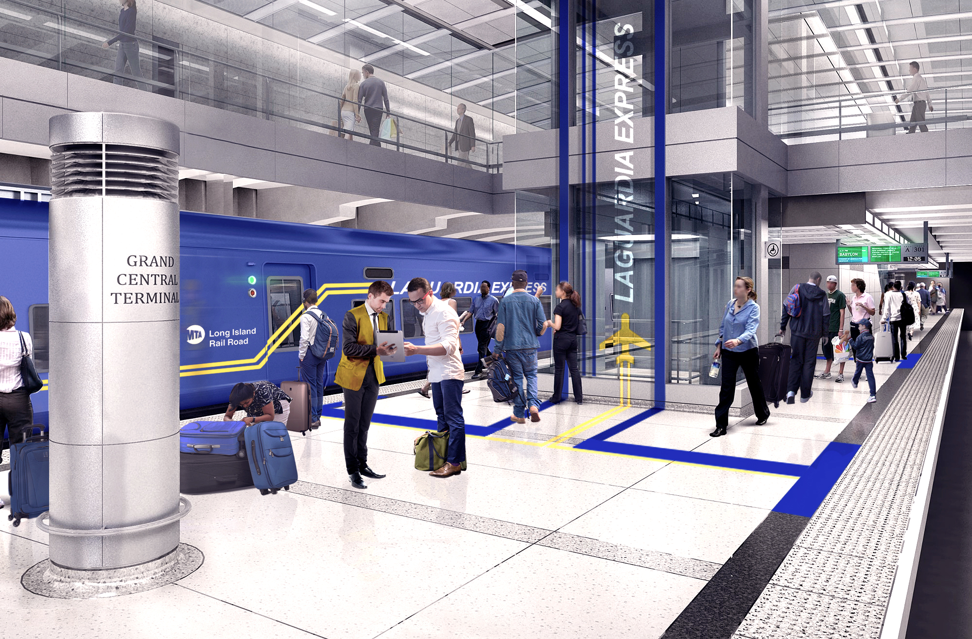 LaGuardia Express at Grand Central Terminal