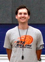 Danny Burton, Coach - Coach Danny played high school basketball in the basketball-rich state of Indiana. He has experience as a lead coach for previous ATX Ballers Basketball Camps, and is excited to continue coaching during the upcoming seasons because the kids' energy is