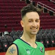 Geoff Harner, Coach - Coach Geoff brings several years' worth of overseas basketball playing experience, including Lithuania and China. He was a standout player for McCallum High in Austin, and has also coached youth basketball for over a decade.