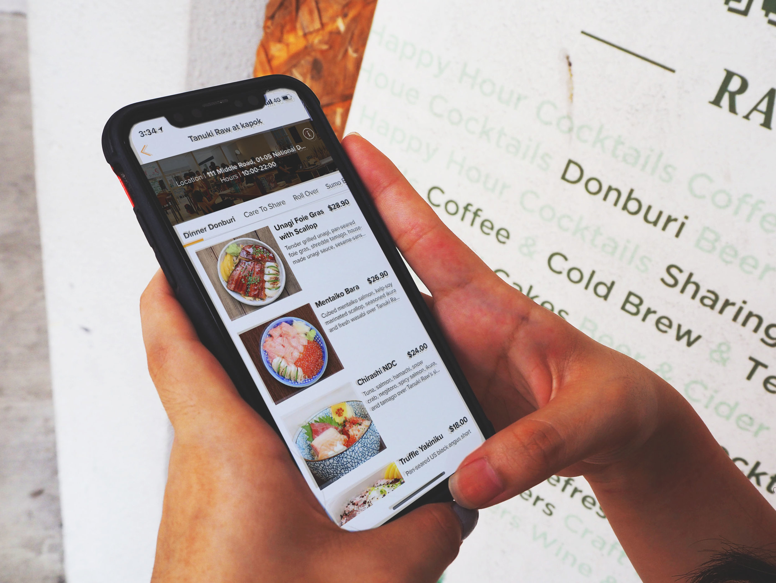 ORDER-AHEAD ANYTIME  Browse menu at your own convenience and place your order!