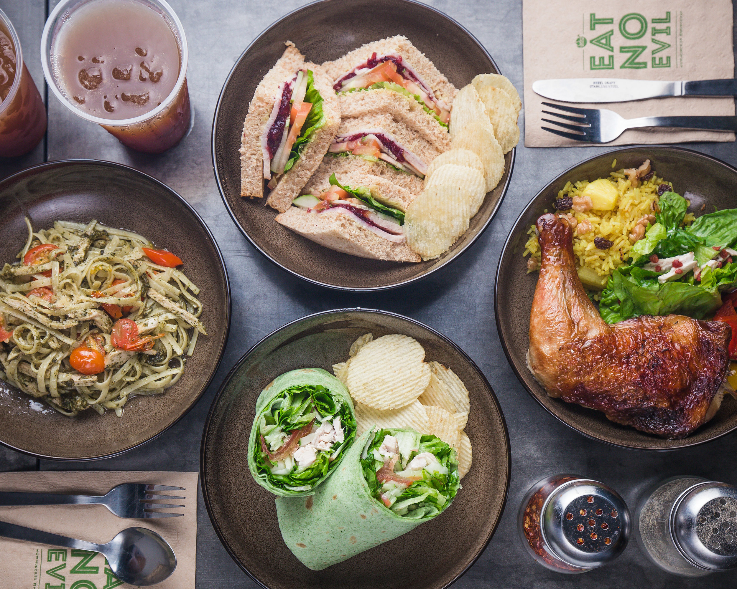 Munch   1 Raffles Place, #B1-16, One Raffles Place