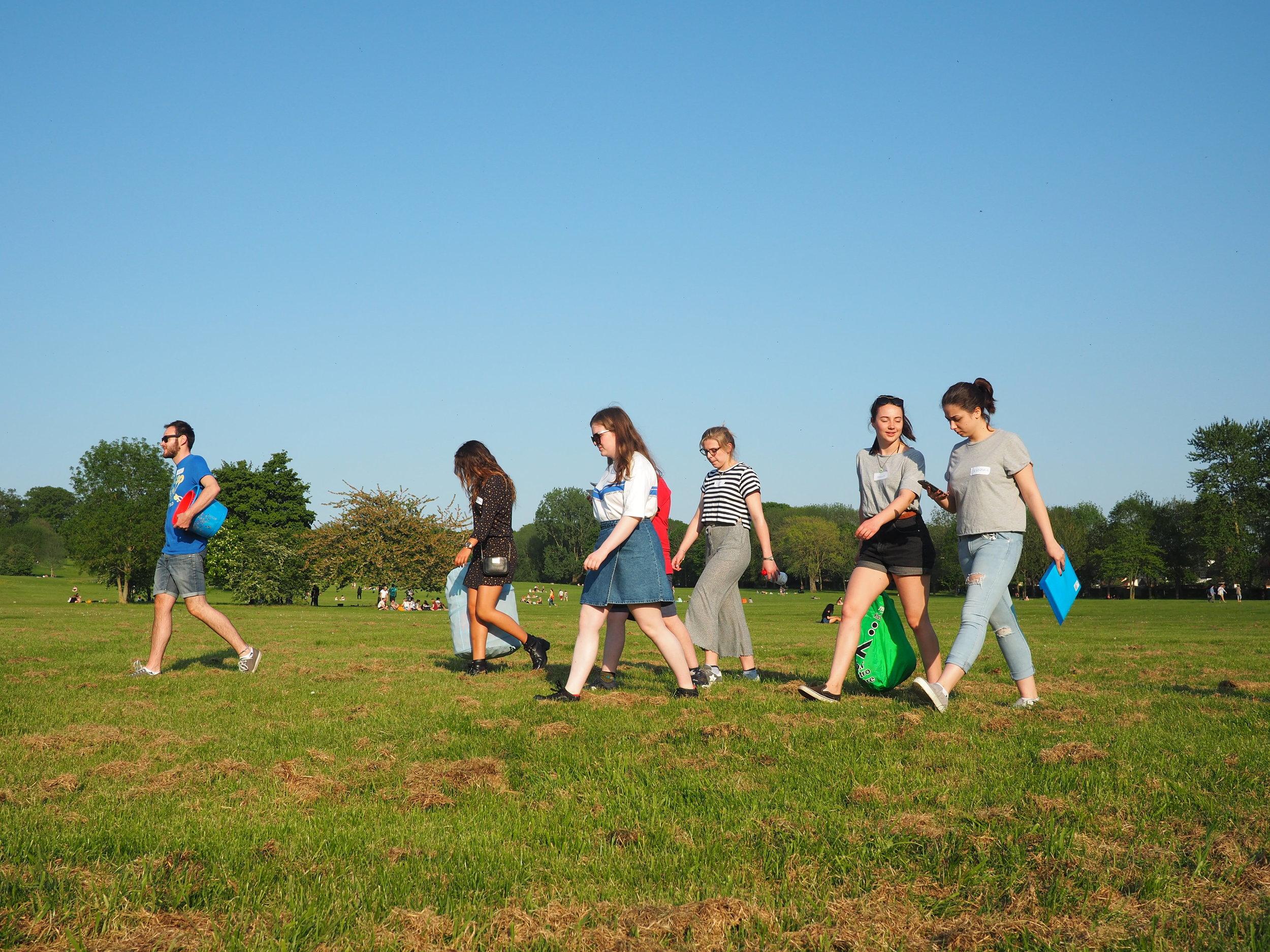 Teens volunteer walk.jpg