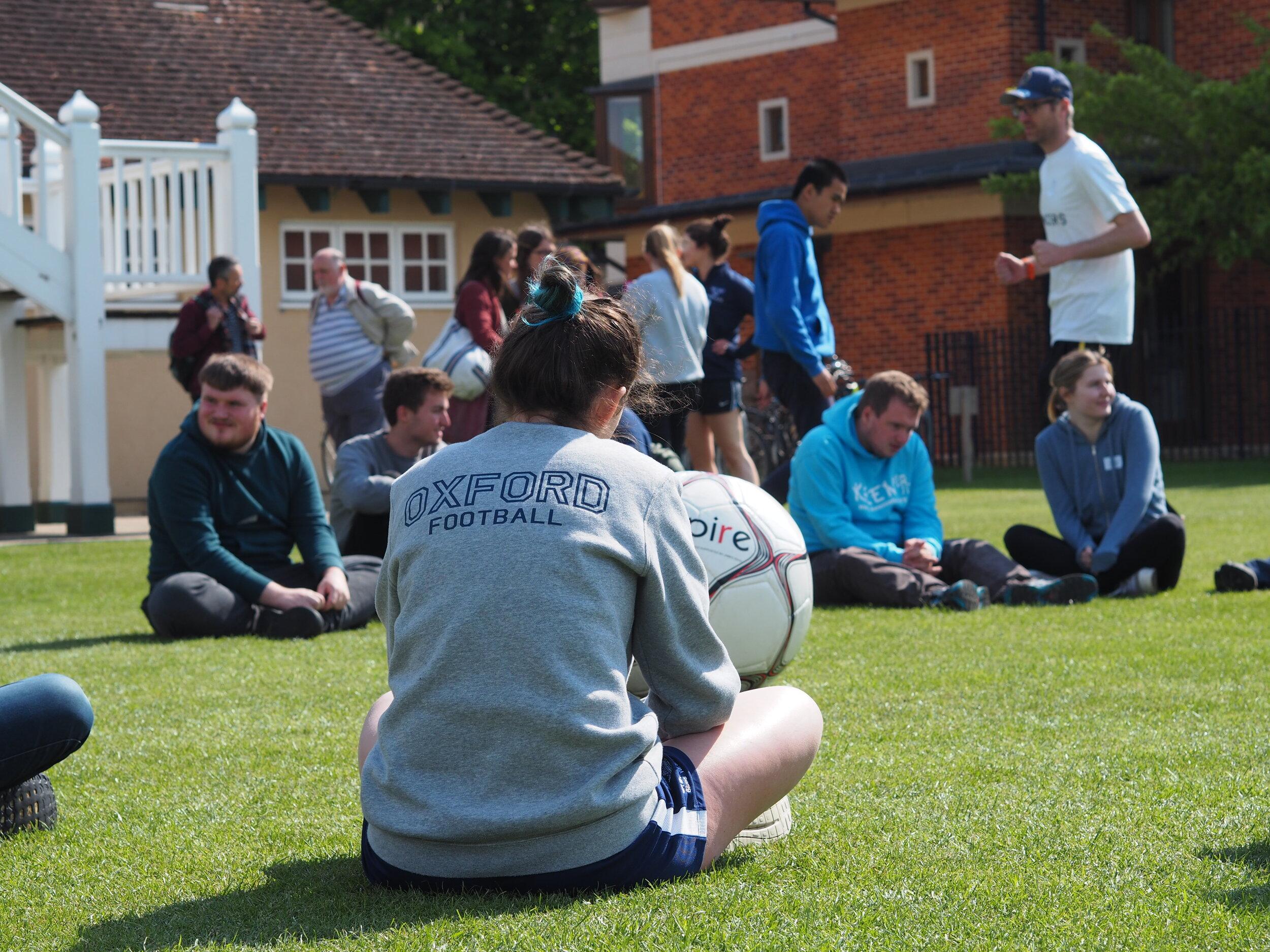 Oxford University Football